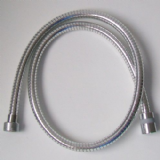 Chrome Plastic Short Shower Hose 1 Metre - 50600331
